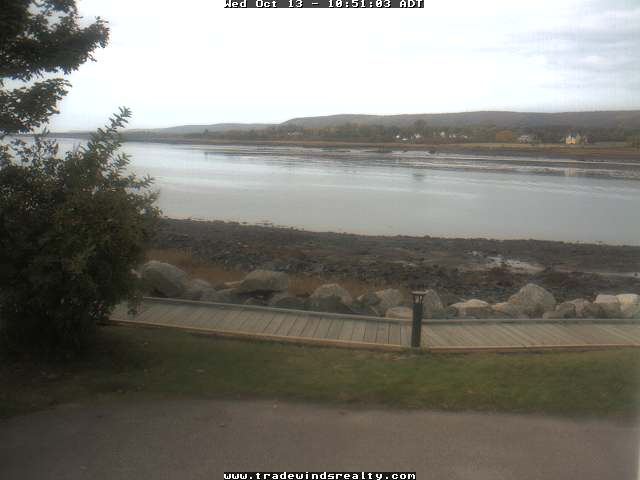 Annapolis Royal webcam - Tradewinds Realty webcam, Nova Scotia, Annapolis County