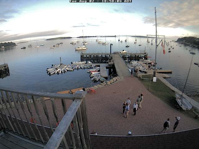 Chester Yacht Club Web Cam, provided by Tradewinds Realty