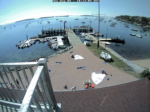Chester webcam - Chester Yacht Club webcam, Nova Scotia, Lunenburg County