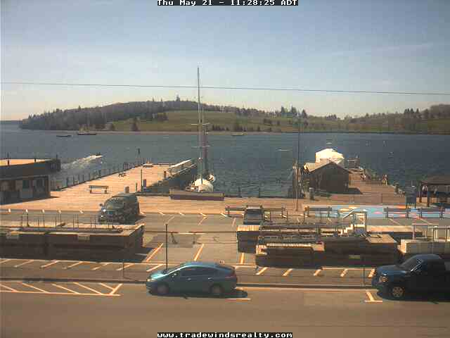 Lunenburg webcam - Lunenburg Port webcam, Nova Scotia, Lunenburg County